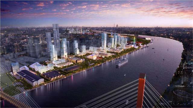 宝山区昨日起动基本建设线上互联网经济生态观光园