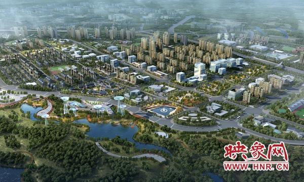 郑州二七区举办重点项目集中化动工仪式
