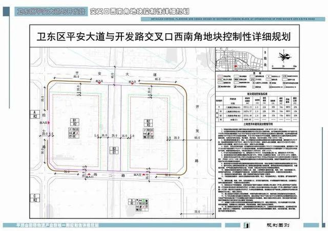 卫东区4宗地块规划出炉,未来这里将建临水小高层还有商业街插图3