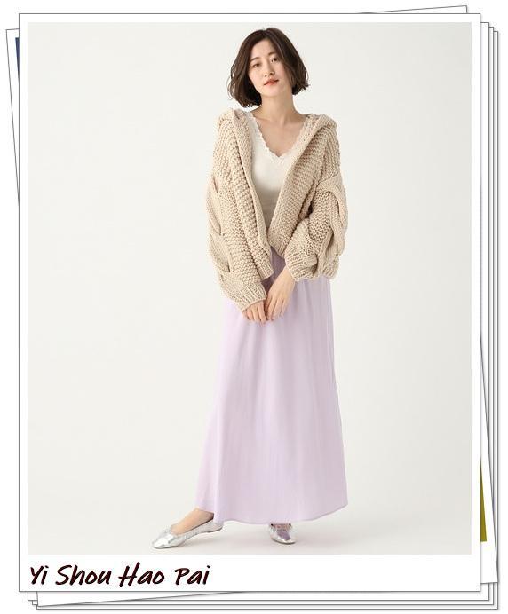 米色开衫的秋季搭配精选!24种你值得尝试的优雅穿搭-第15张