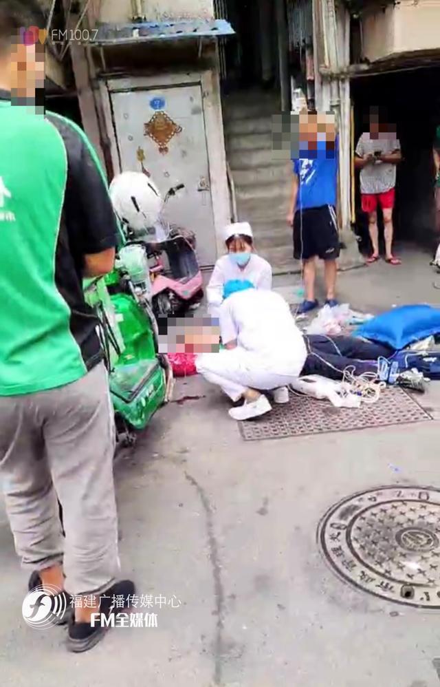 突发!福州一外卖员一脚踩空,不幸身亡【www.smxdc.net】