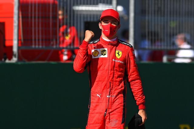 分享,开心法拉利F1能赢亚军?勒克莱尔:运气
