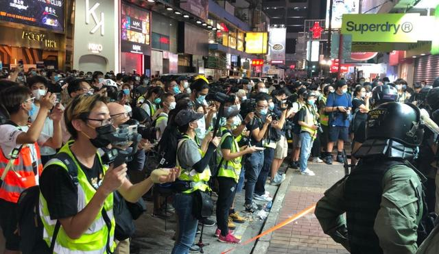 香港警方至少拘捕289人,其中270人涉嫌非法集结#www.smxdc.net#