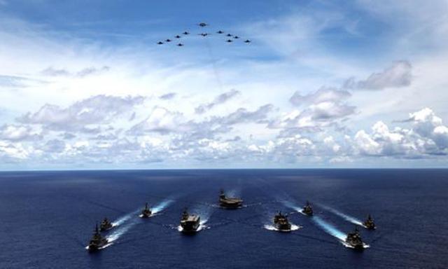 搅局南海?美带头后,日本行动升级走出罕见一步,中方已有言在先