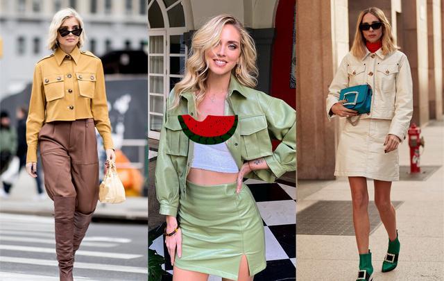 秋季想要穿出新鲜感,不如换件工装夹克,气质丰富款式还多样-第1张