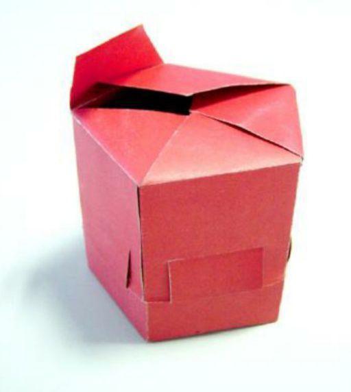 包装纸盒结构类型之——间壁结构,盒底结构和锁口结构(图5)