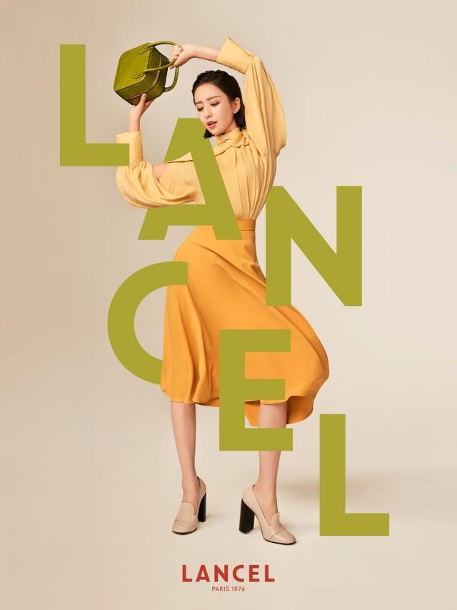 佟丽娅活力演绎Lancel 2020秋冬系列