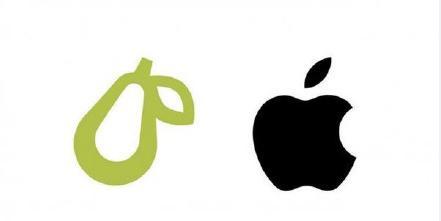 以大欺小!苹果起诉一家五人公司:因其梨形logo和苹果商标像