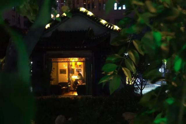 「游园夜景醉游人」晚上8点以后的工人文化宫,美爆了插图30