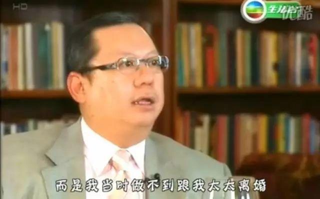 林建岳说和王祖贤在一起很开心,但却不能和太太离婚!