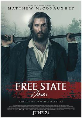 琼斯的自由国度 电影海报
