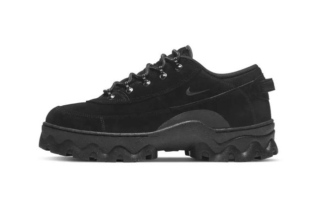 Nike出了一款低帮登山鞋Lahar Low,还是参考30年前的鞋为原型
