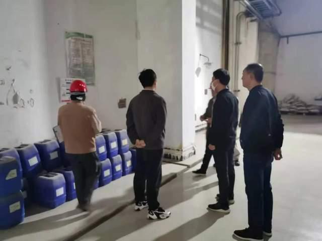 環衛處開展危險化學品安全檢查工作——海安市城管局