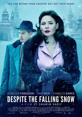 尽管雪落 电影海报