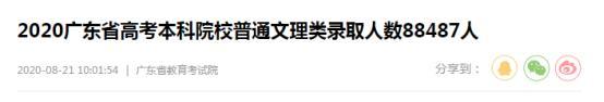 2020年或有203万人高考落榜、广东省一本上线率11.35% 该何去何从