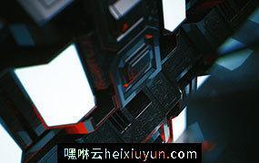 [02-03-17] – Mr.Robot炫酷游戏装备C4D动画工程文件分享