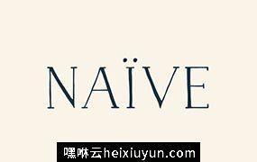 时尚优雅的字体 Naive Font Pack #102090
