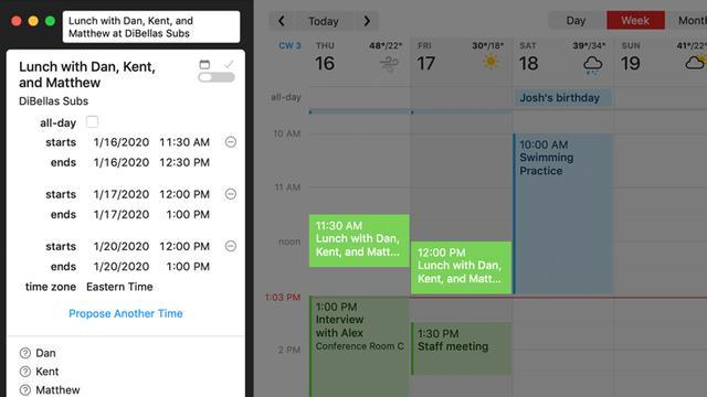 macOS必备软件之高颜值日历「Fantastical」 Mac软件教程 第1张
