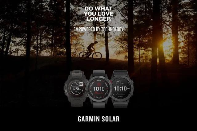 佳明Garmin推出Solar太阳能手表,新一代运动最佳装备
