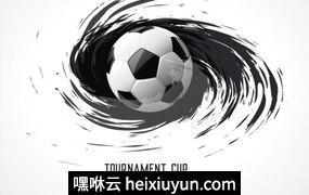 2018俄罗斯世界杯国际足球比赛对阵海报挂画设计模板ai EPS矢量素材#04