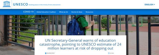 疫情或致全球2400万学生辍学 教育灾难下留学生该如何选择?