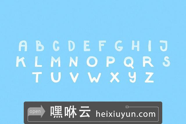 嘿咻云-Tiburon-字体Tiburon — Font #701686