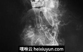 史诗级烟雾照片特效PS动作笔刷素材 Smoke Photoshop Action