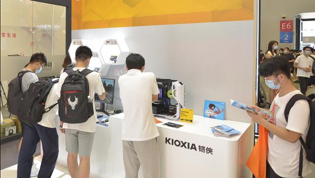 ChinaJoy 2020丨老朋友新面孔:铠侠全系列存储产品亮相热点科技展台