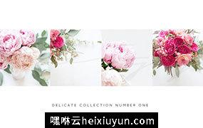 春季华丽的花卉博客高清配图素材包 Styled Stock Photos
