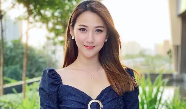 """马来西亚气质女神""""齐敏Jasmin"""",高挑身材加深V让人难以消受!"""