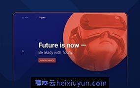 功能强大酷炫的网页UI模板WEB UI#180530