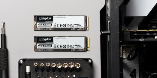 整机性能直线提升 金士顿M.2 NVMe固态硬盘