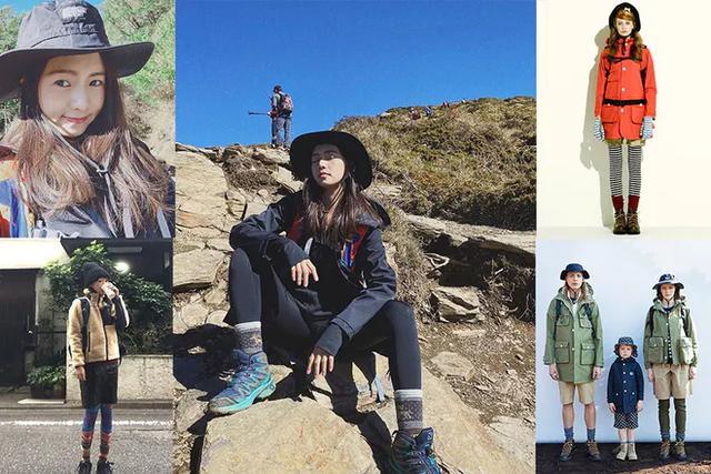 徒步登山穿搭推荐,好看的女生户外活动都这样穿