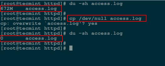 技能包!Linux 下清空或删除大文件内容的 5 种方法技能包!Linux 下清空或删除大文件内容的 5 种方法