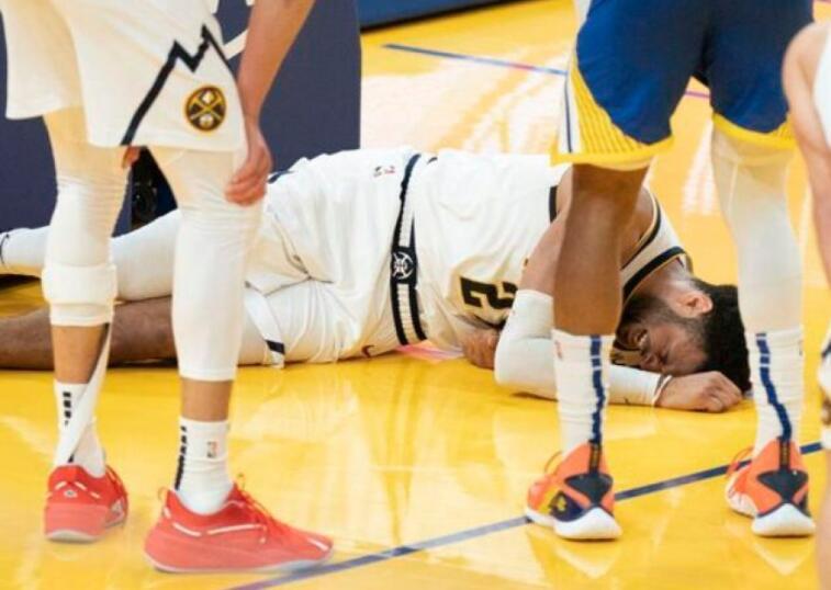 左膝韧带受伤 金块主力穆雷或赛季报销