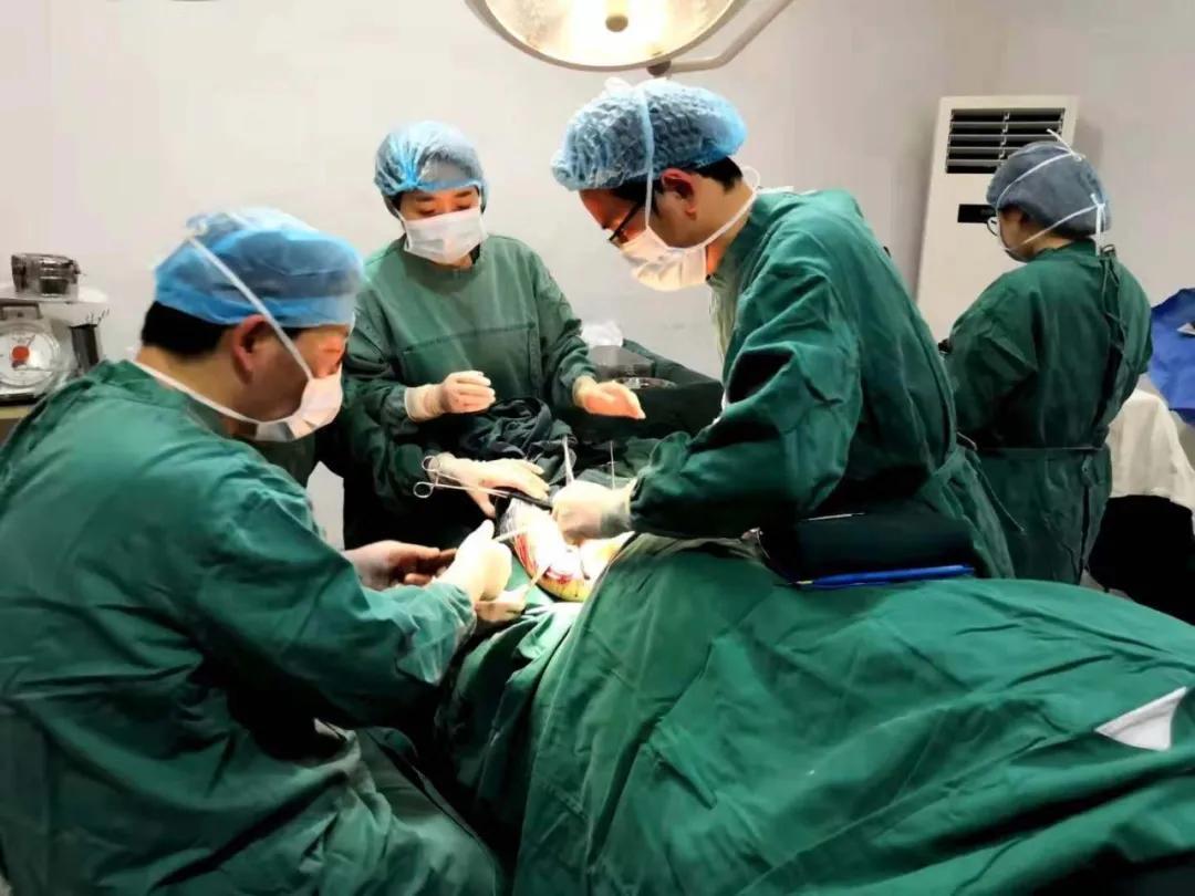 萧山中医院专家赴龙泉市中医医院开展首例胫骨平台骨折手术
