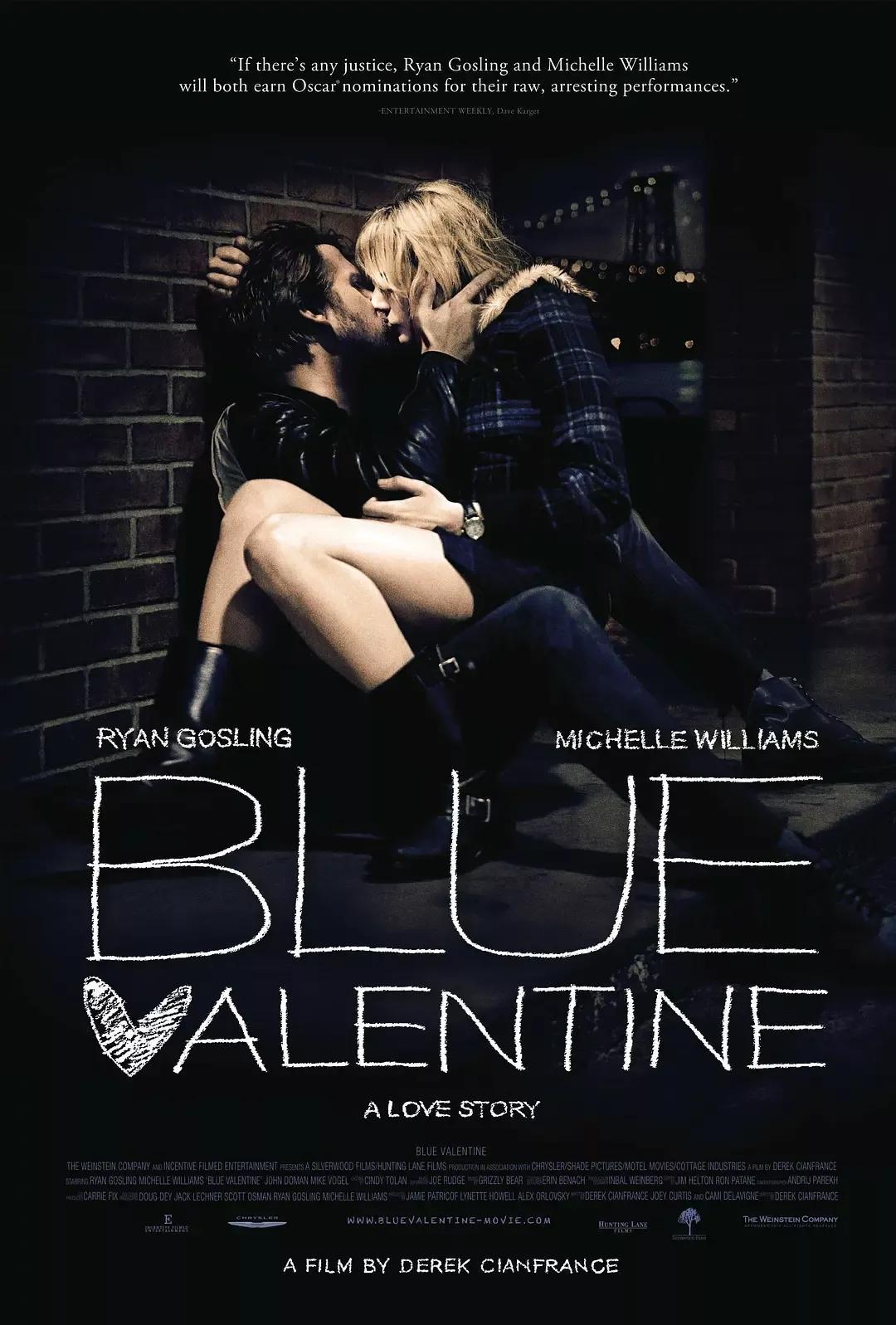 《蓝色情人节》这部R级片,道出了成人爱情羞于启齿的真相!