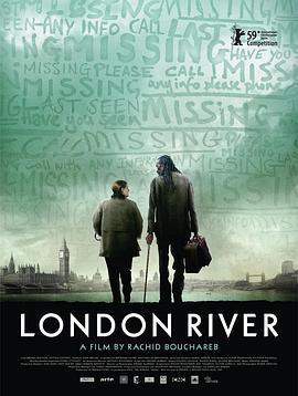 伦敦河海报