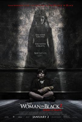 黑衣女人2:死亡天使 电影海报