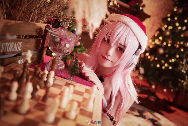 蜜汁猫裘Cosplay圣诞索尼子图包合集精选 COSPLAY 热图5