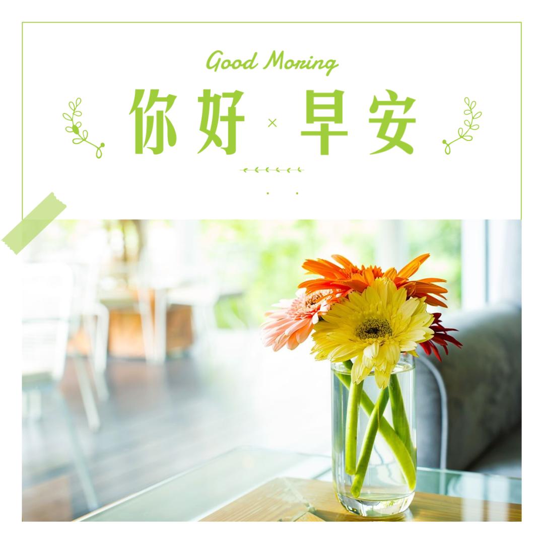 早安正能量激励语录带图片