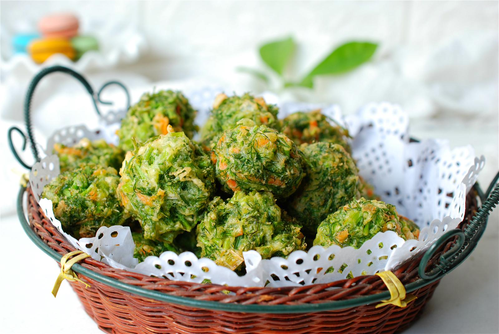 春天多吃这菜,提升食欲对胃好,做成丸子又香又脆,吃上瘾了  - 美食,菜谱