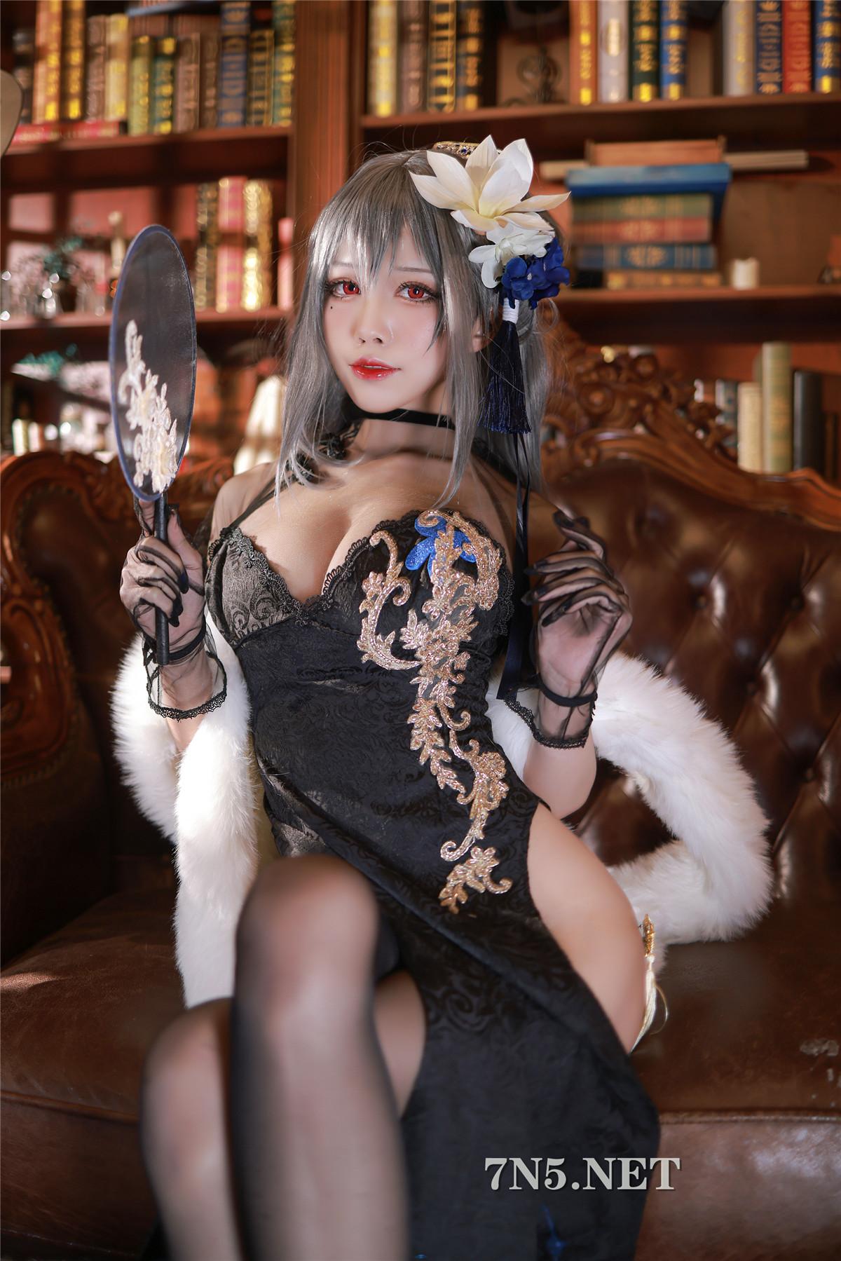 暗黑系COSER少女水淼Aqua,居然在日本也如此受欢迎~