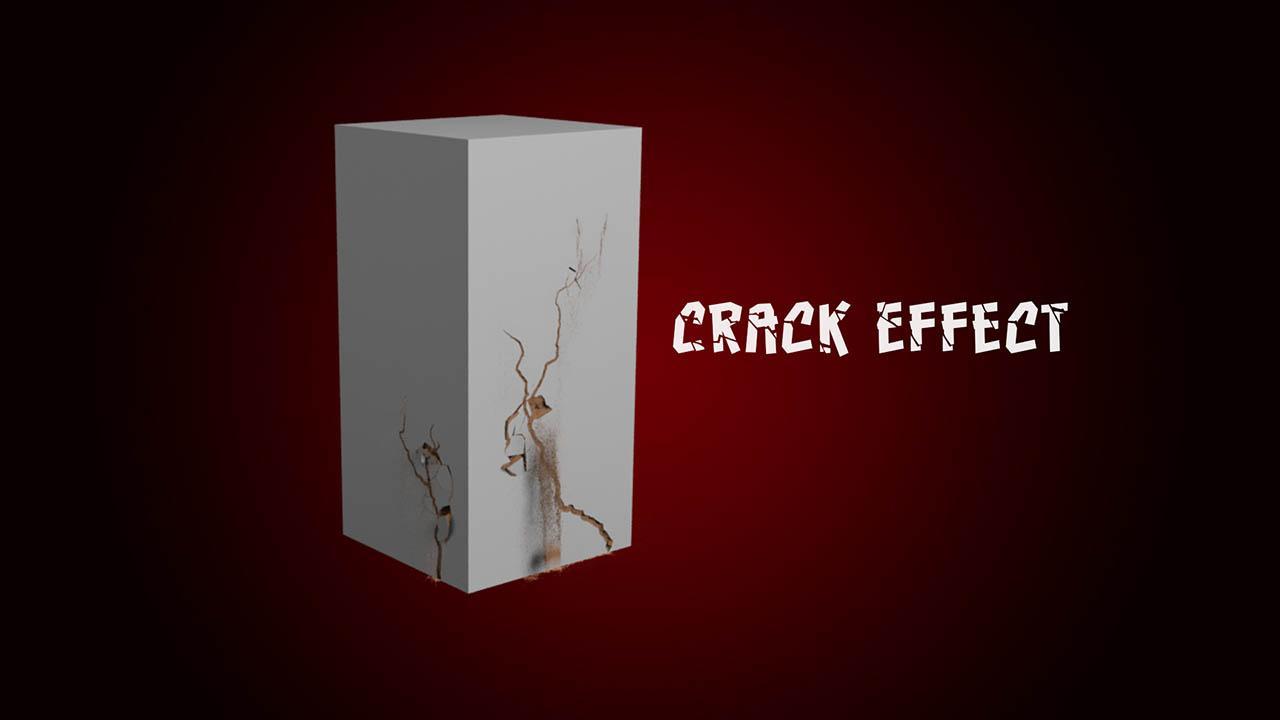 Houdini裂痕破碎特效教程 CGCircuit Houdini Crack Effect – Houdini 18.5