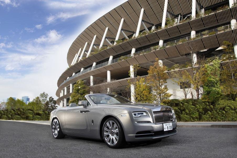 劳斯莱斯汽车与建筑师Kengo Kuma合作推出量身定制的Dunn