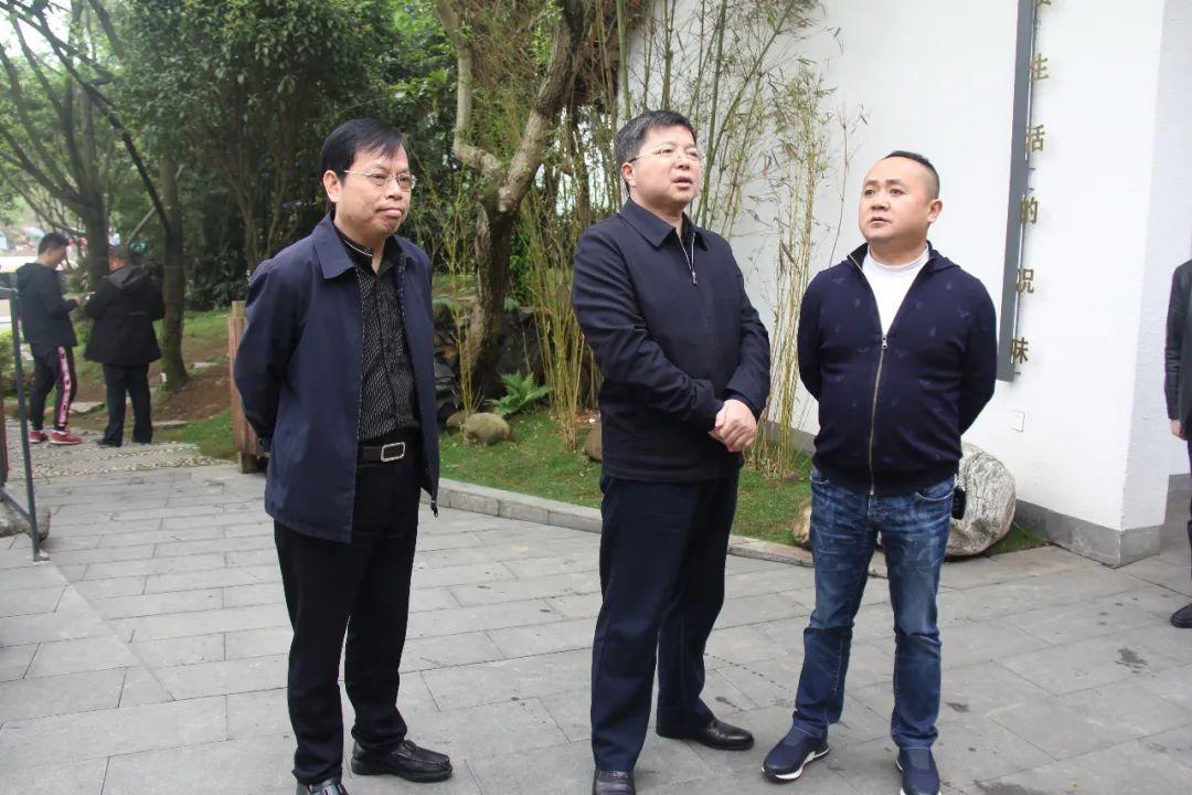 湘潭天易经开区领导现场督导园区突出生态环境问题整改工作