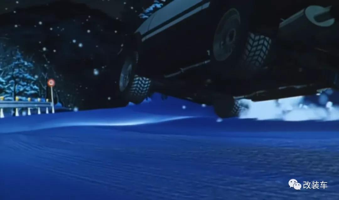 《头文字D》最大悬疑揭秘!茂木夏树坐的那辆奔驰到底是谁的?