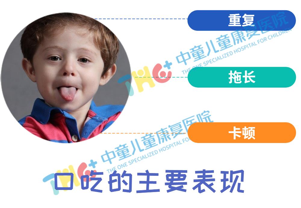 儿童口吃的主要表现