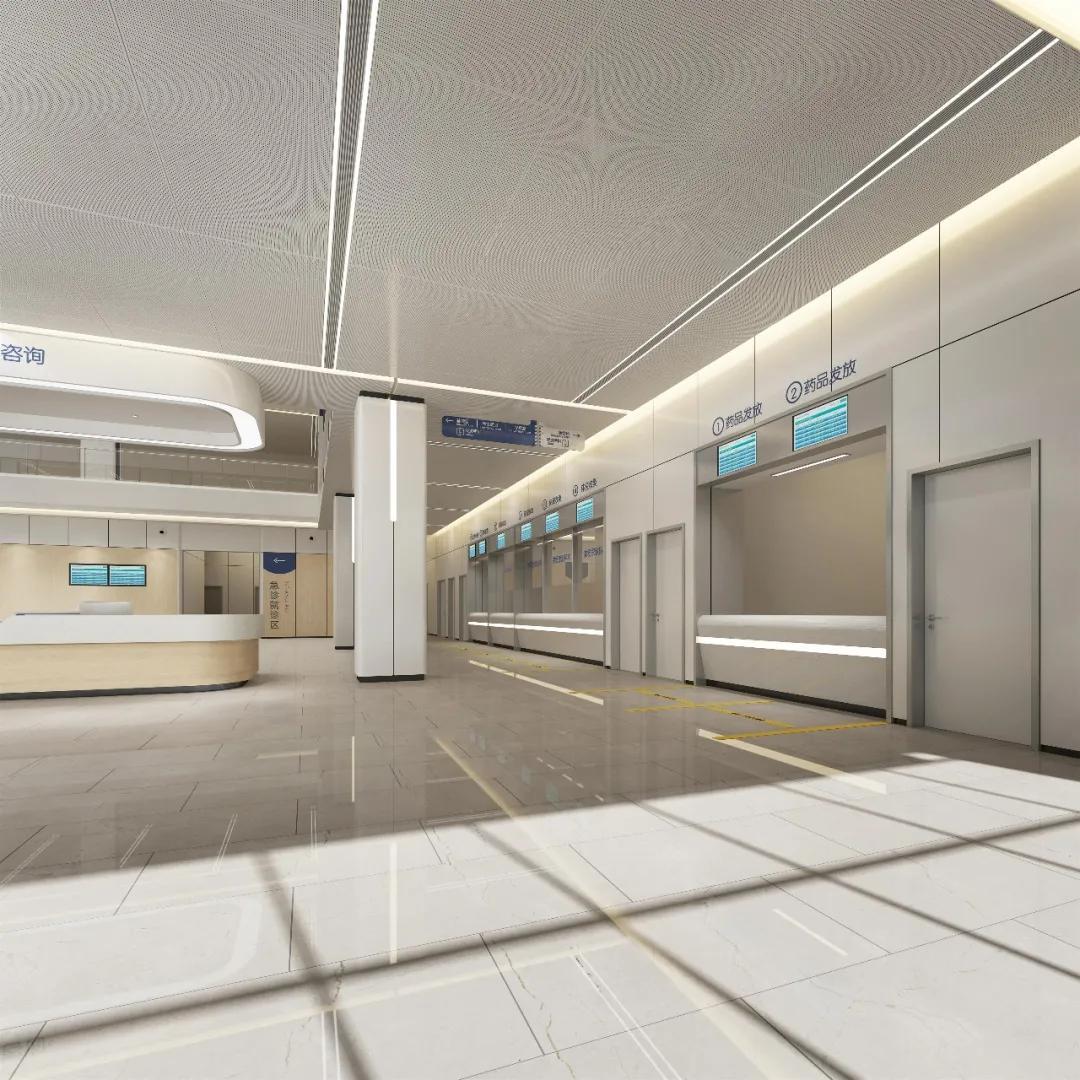 江北人民医院这幢新楼初现真容,未来将惠及 30 多万群众