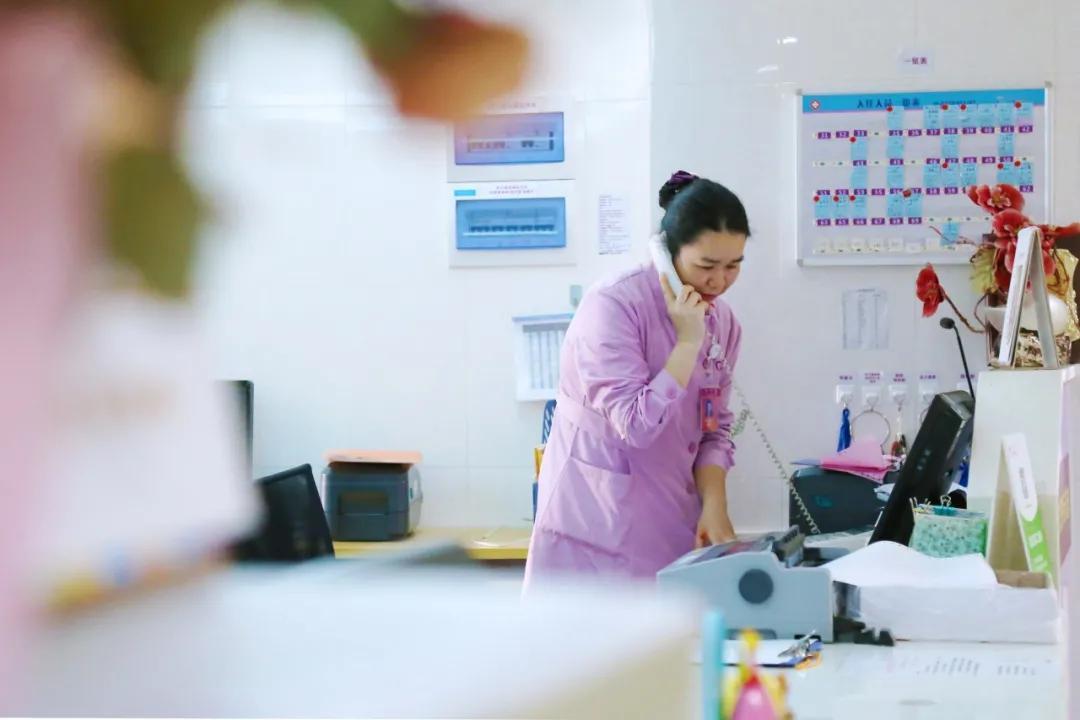 江门市妇幼保健院产三区的慈姐